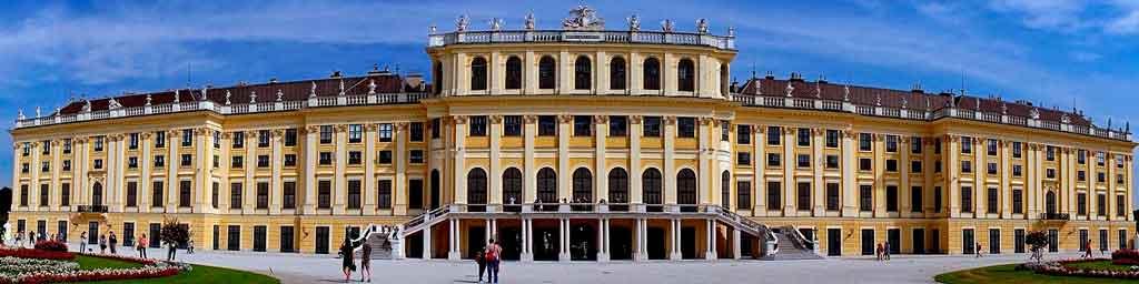 Viena Austria Palácio de Schönbrunn