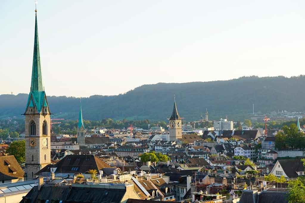 Zurique Suiça como chegar