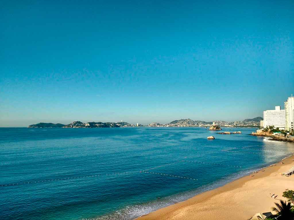 Acapulco, México praia pichilinque