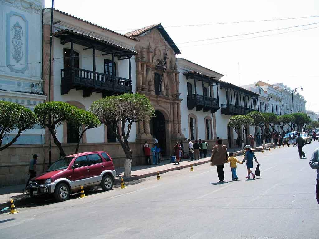 Capital da Bolivia casa de la liberdad