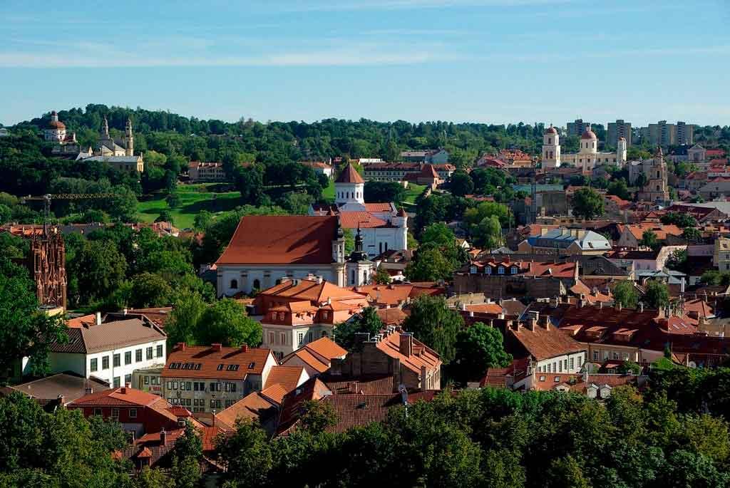 Capital da Lituânia onde fica
