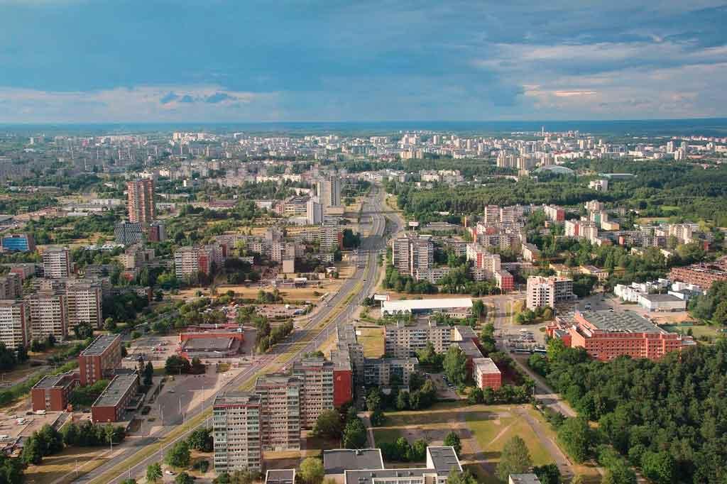 Capital da Lituânia onde hospedar