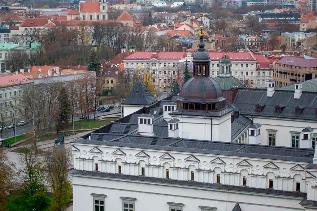 Capital da Lituânia Palácio dos Duques