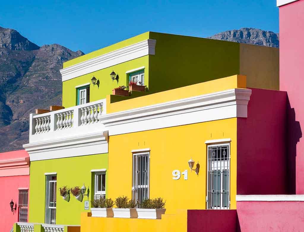 Cidade do Cabo Bairro Bo Kaap