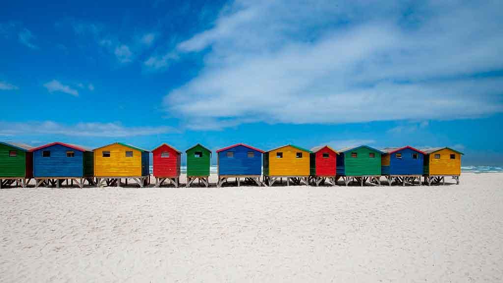 Cidade do Cabo praias