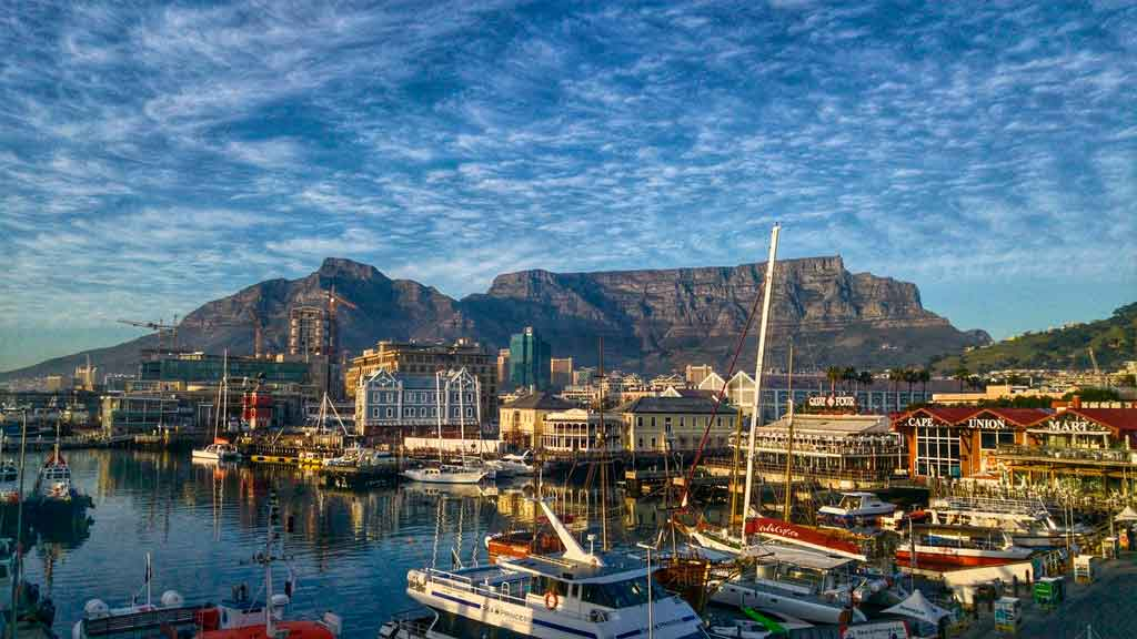 Cidade do Cabo qual é o país