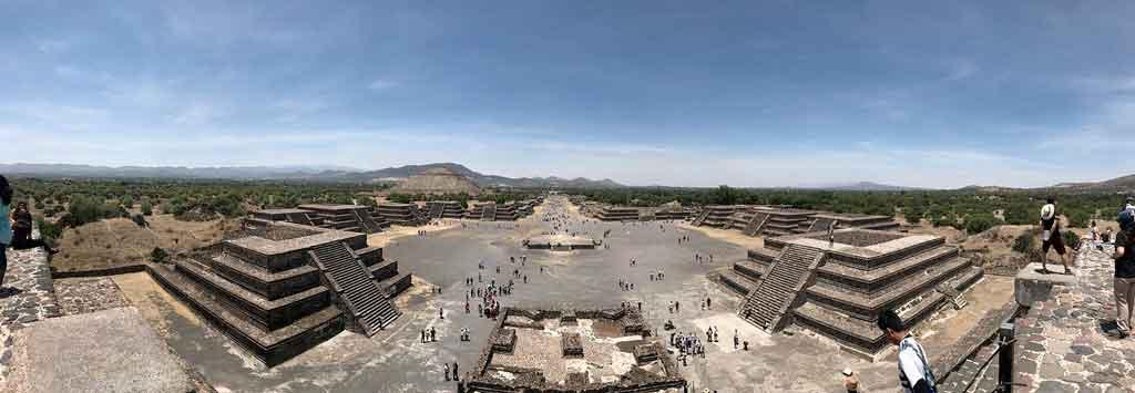 Cidade do México piramides de teotihuacan