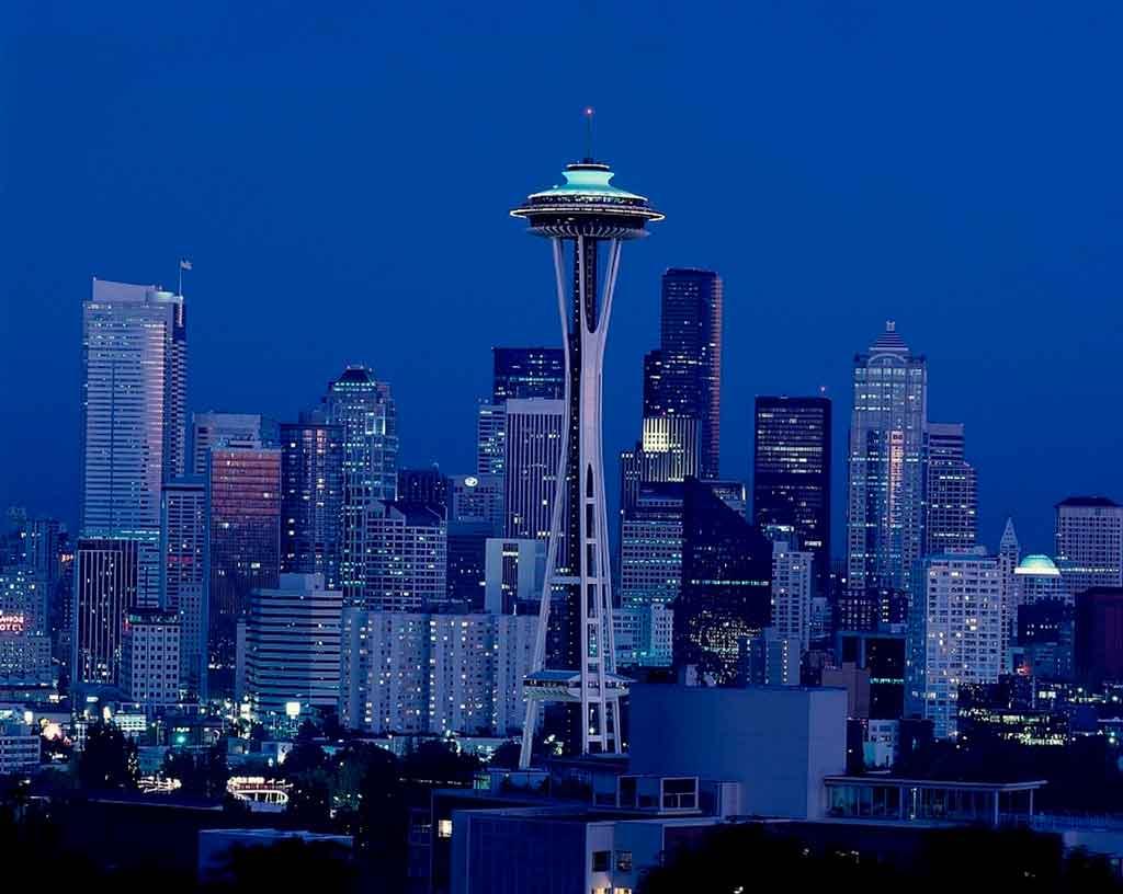 Cidades da costa oeste dos estados unidos Seattle