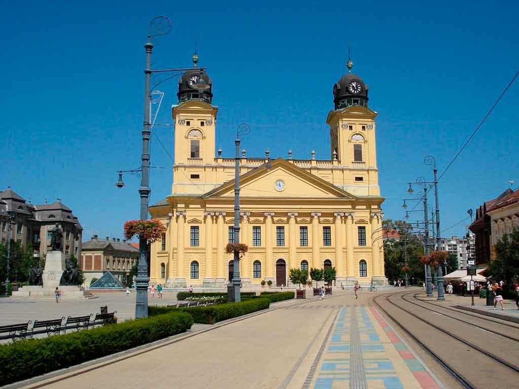 Cidades da Hungria Debrecem