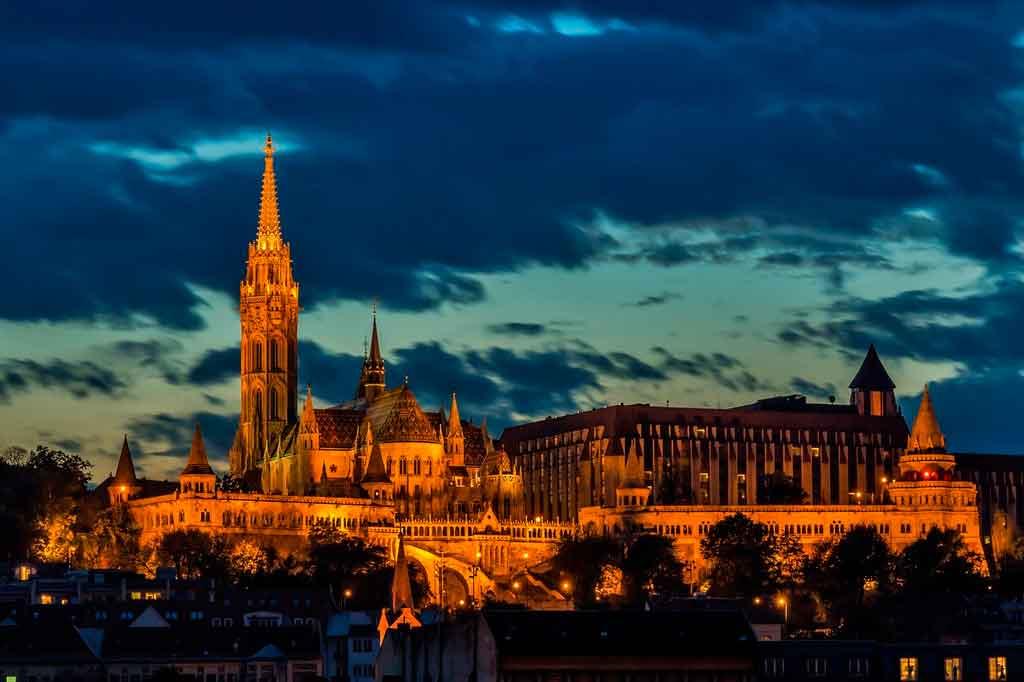 Cidades da Hungria onde fica
