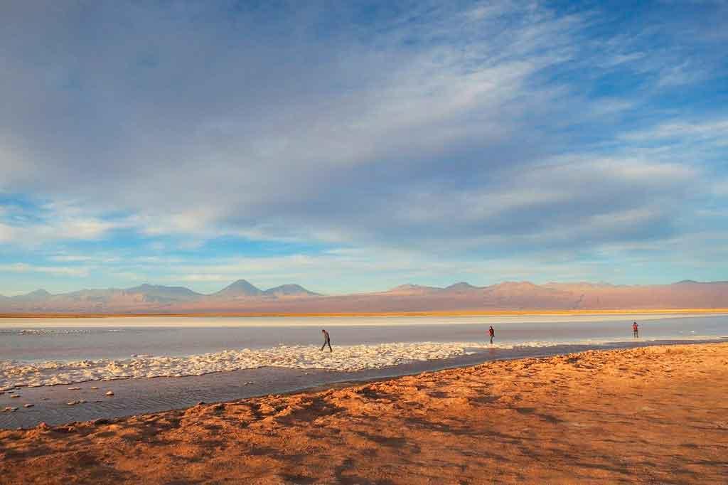 Deserto do Atacama Chile laguna cejar