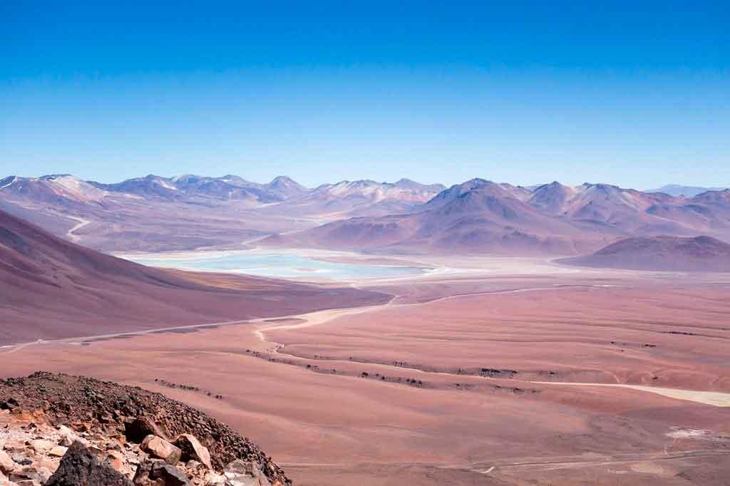 Deserto do Atacama Chile piedras rojas