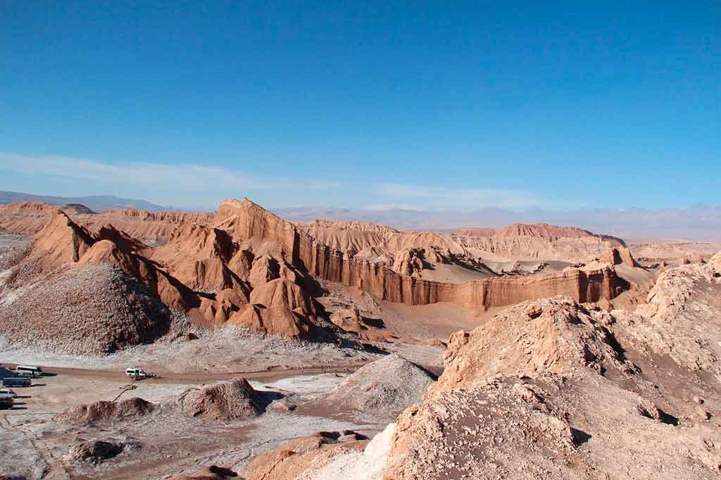 Deserto do Atacama Chile valle de la luna