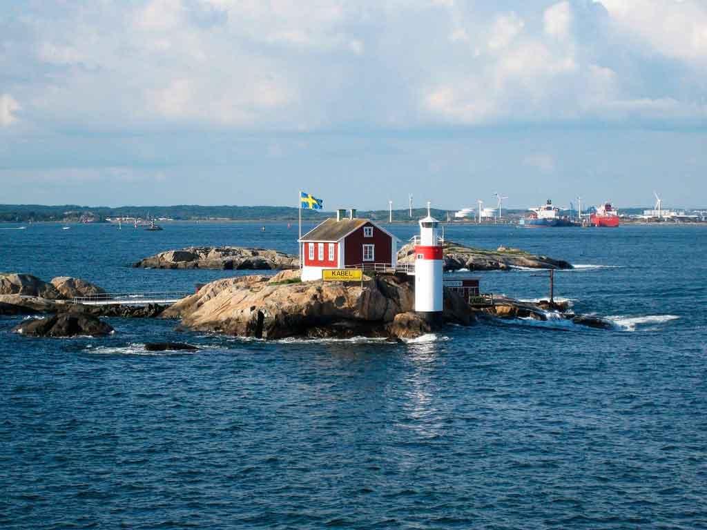 Gotembrugo, Suécia onde fica