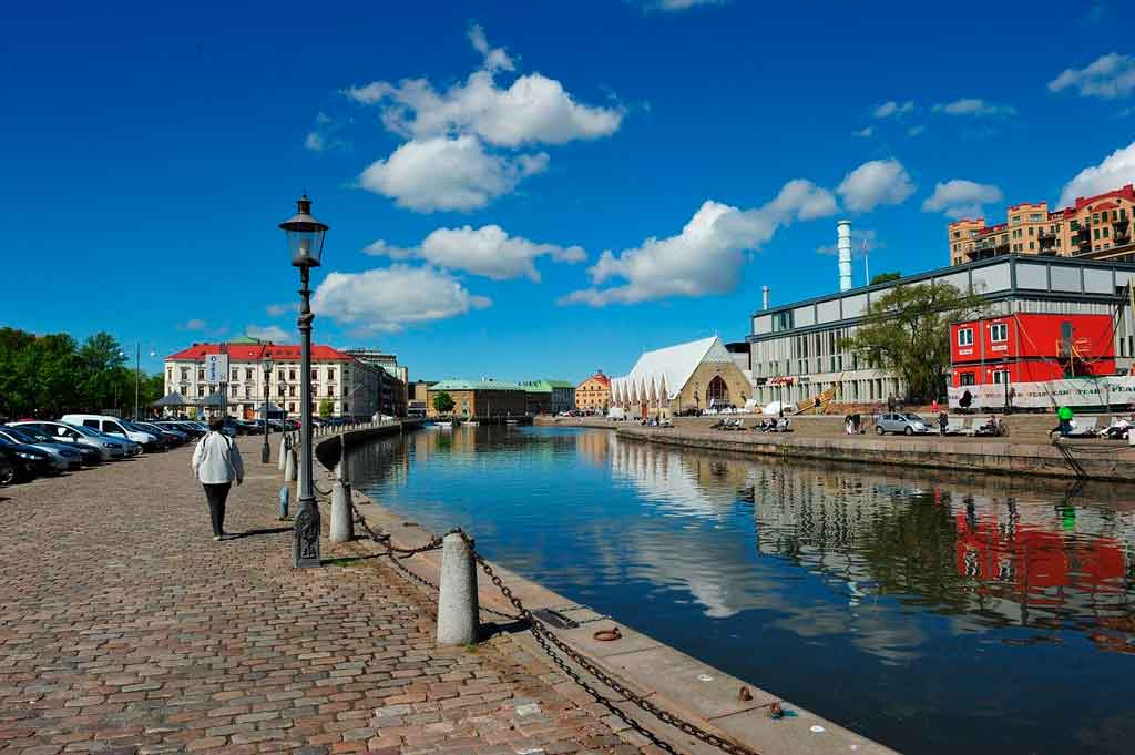 Gotembrugo, Suécia qual o clima