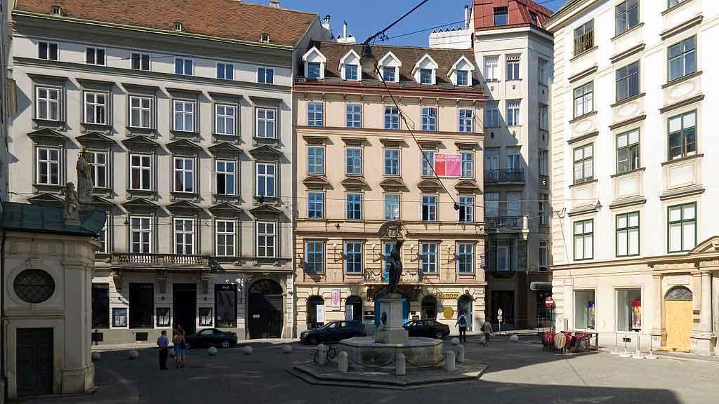 Graz Austria franziskanerplatz