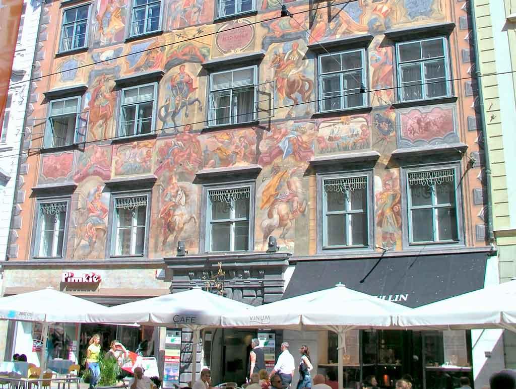 Graz Austria herrengasse