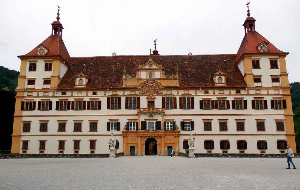 Graz Austria schlass eggenberg