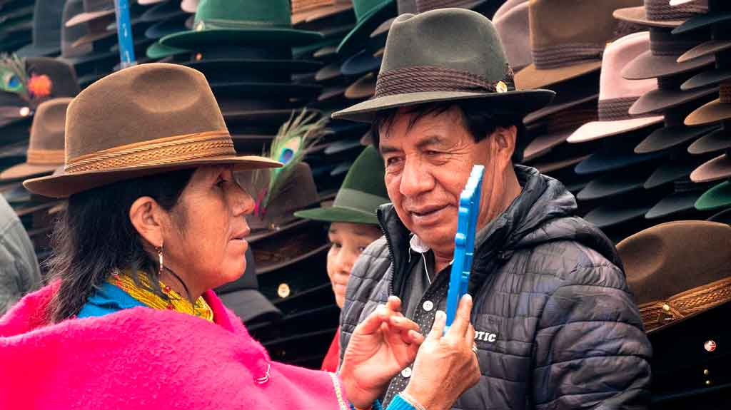 Guaiaquil Equador mercado artesanal