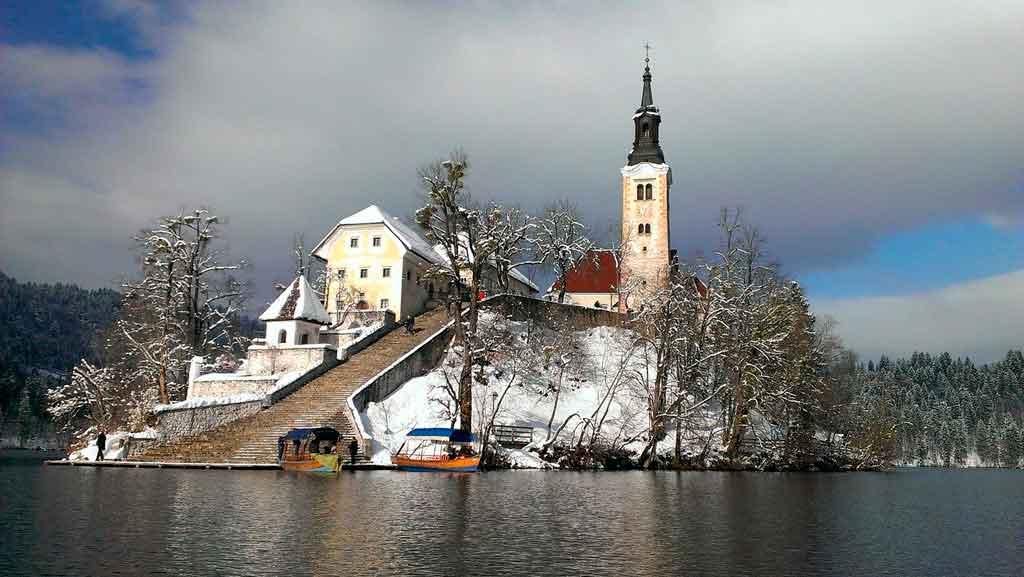 Lago Bled castelo de bled