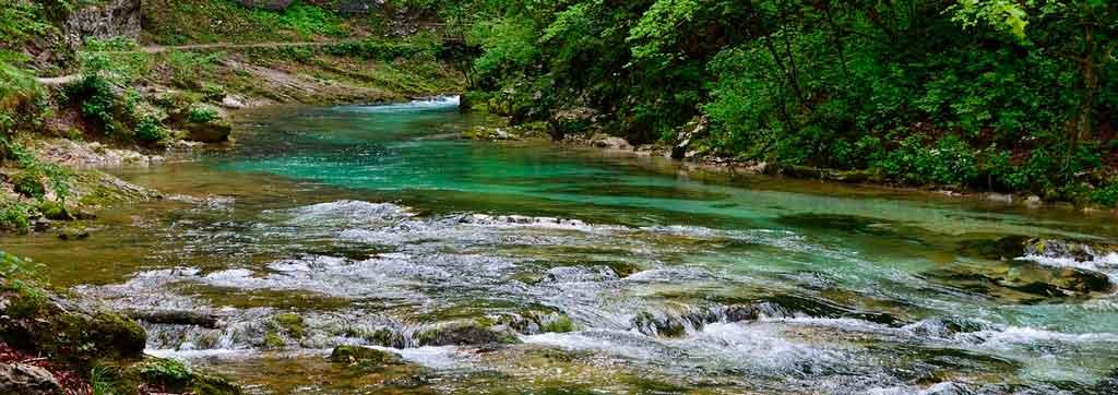 Lago Bled desfiladeiro de vintgar