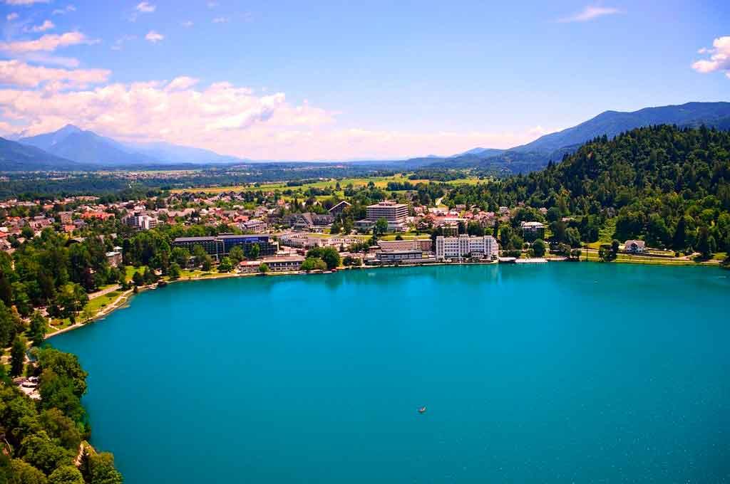 Lago Bled onde fica