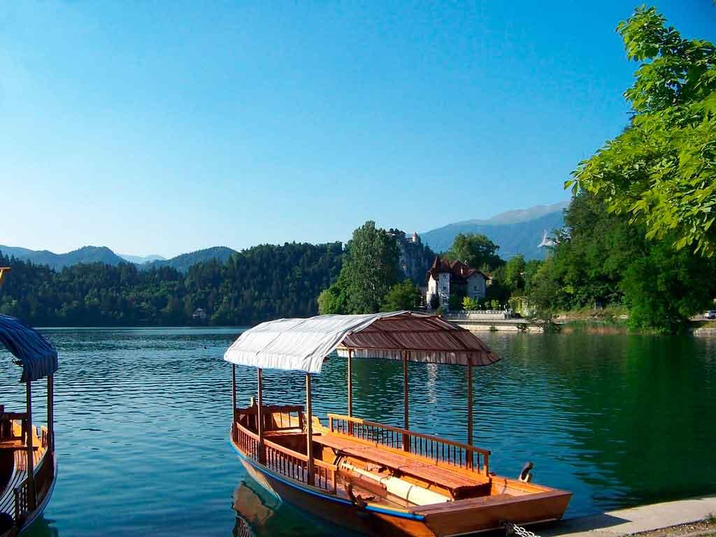 Lago Bled gondola