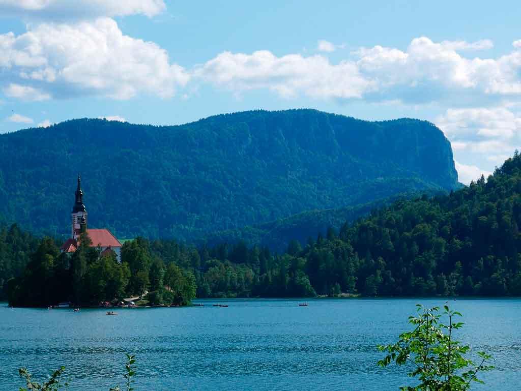 Lago Bled quando visitar