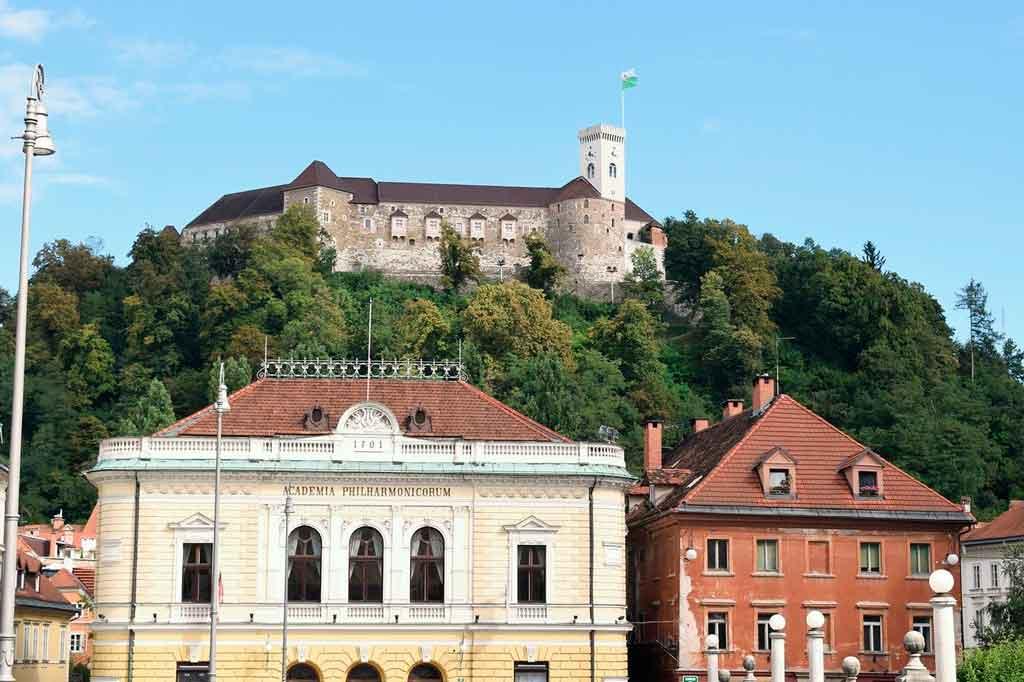 Liubliana o que fazer castelo de Liubiana