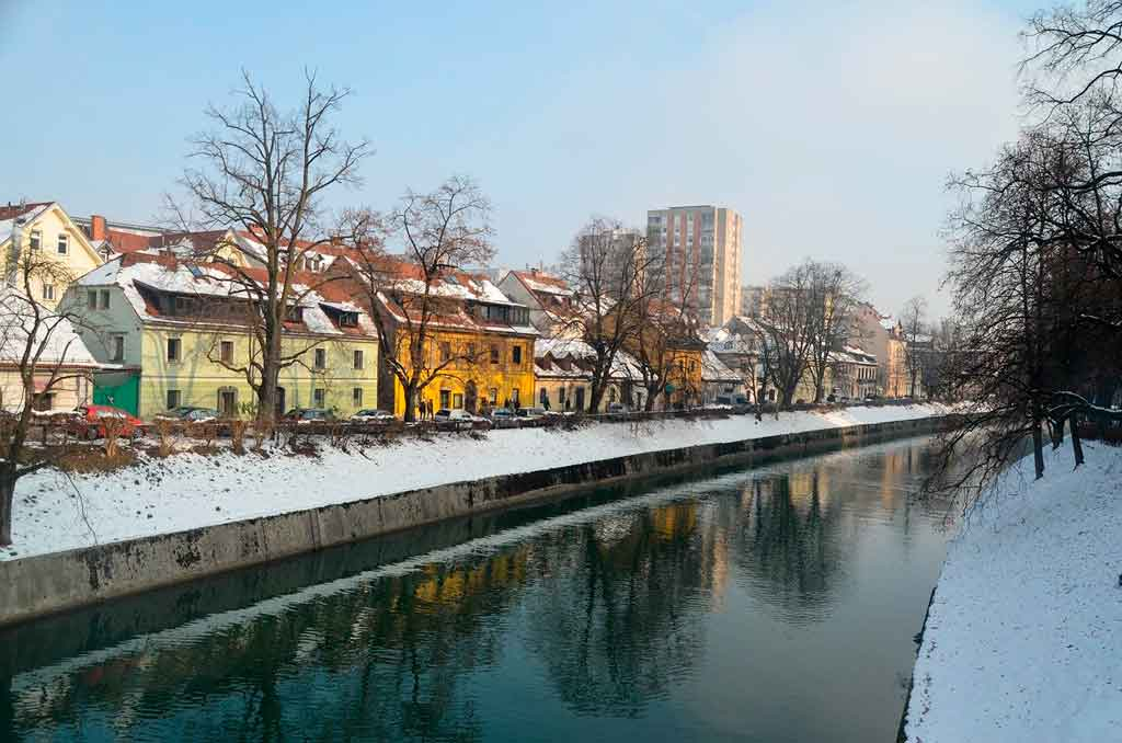 Liubliana o que fazer inverno