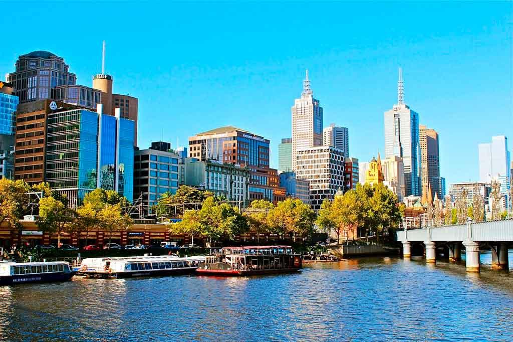 Melbourne Austrália como chegar