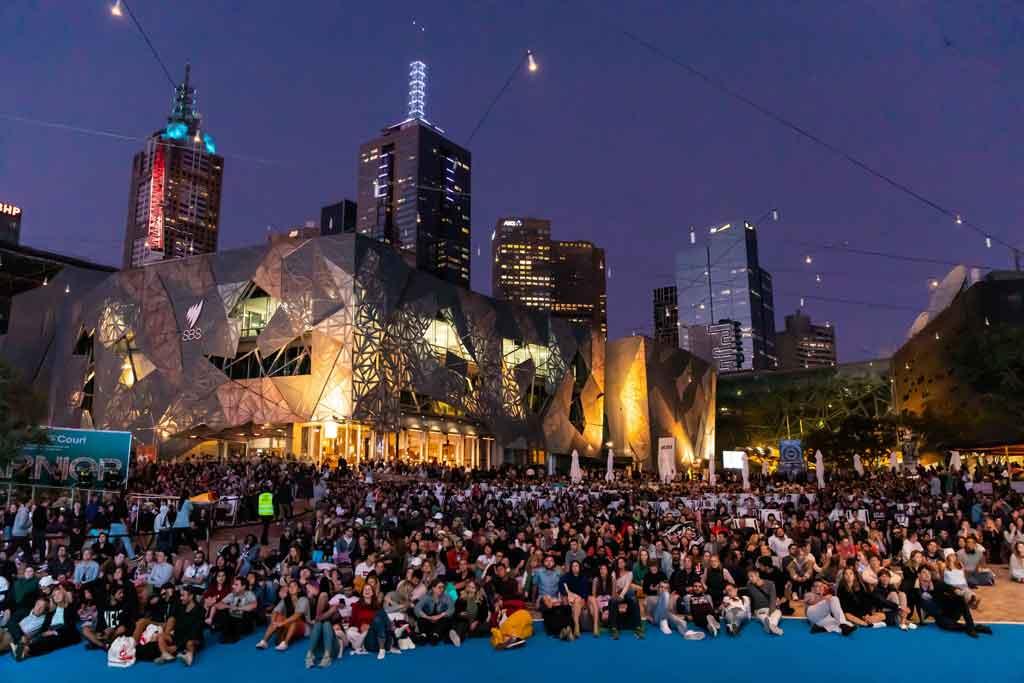 Melbourne Austrália deferation square