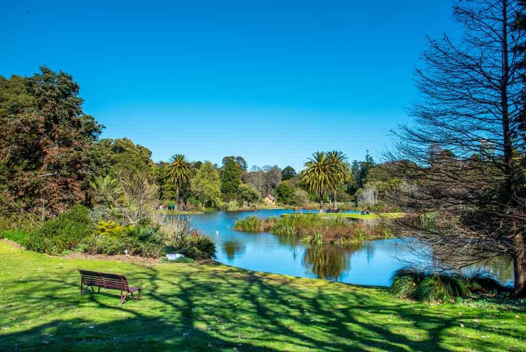 Melbourne Austrália royal botanic garden of victoria