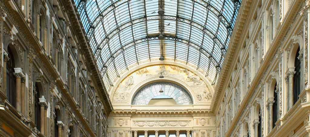 Napoles Itália galleria umberto 1