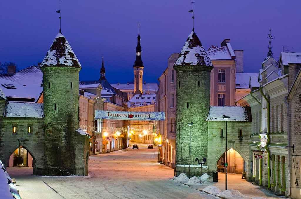 O que fazer na Estônia Capa