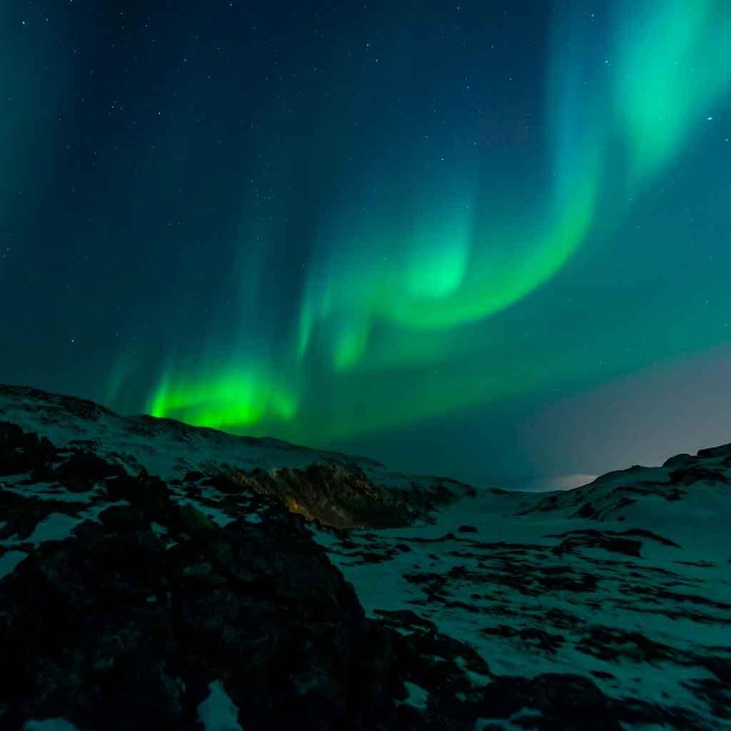 Onde fica Helsique Aurora Boreal