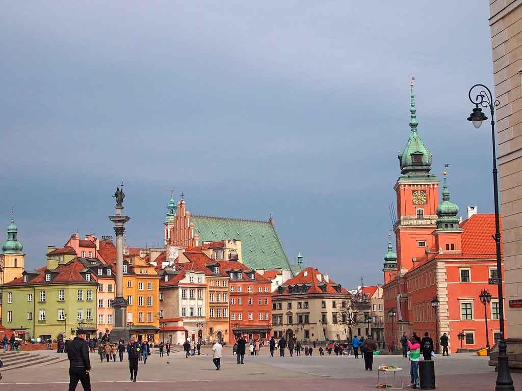 Países Balticos Varsóvia