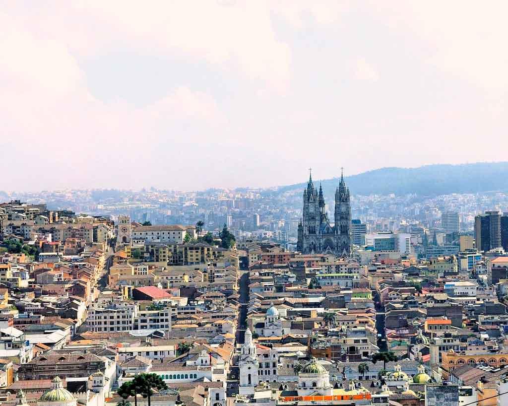 Quito Equador el penecillo
