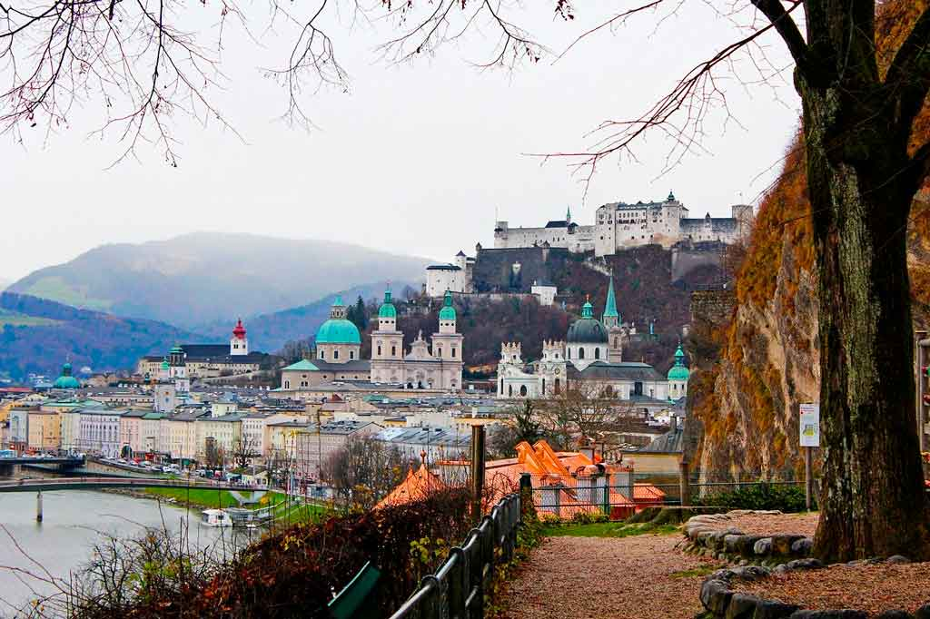 Salzburg Austria como chegar