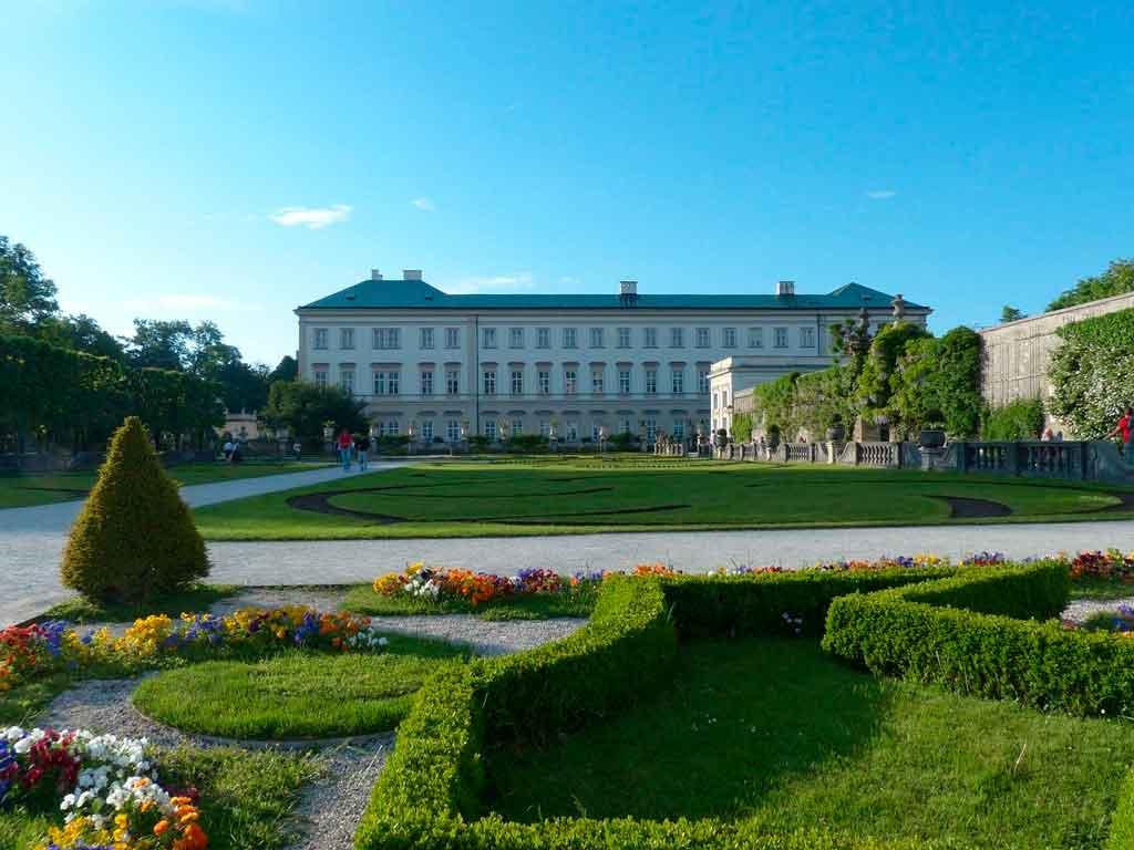 Salzburg Austria palácio Mirabell
