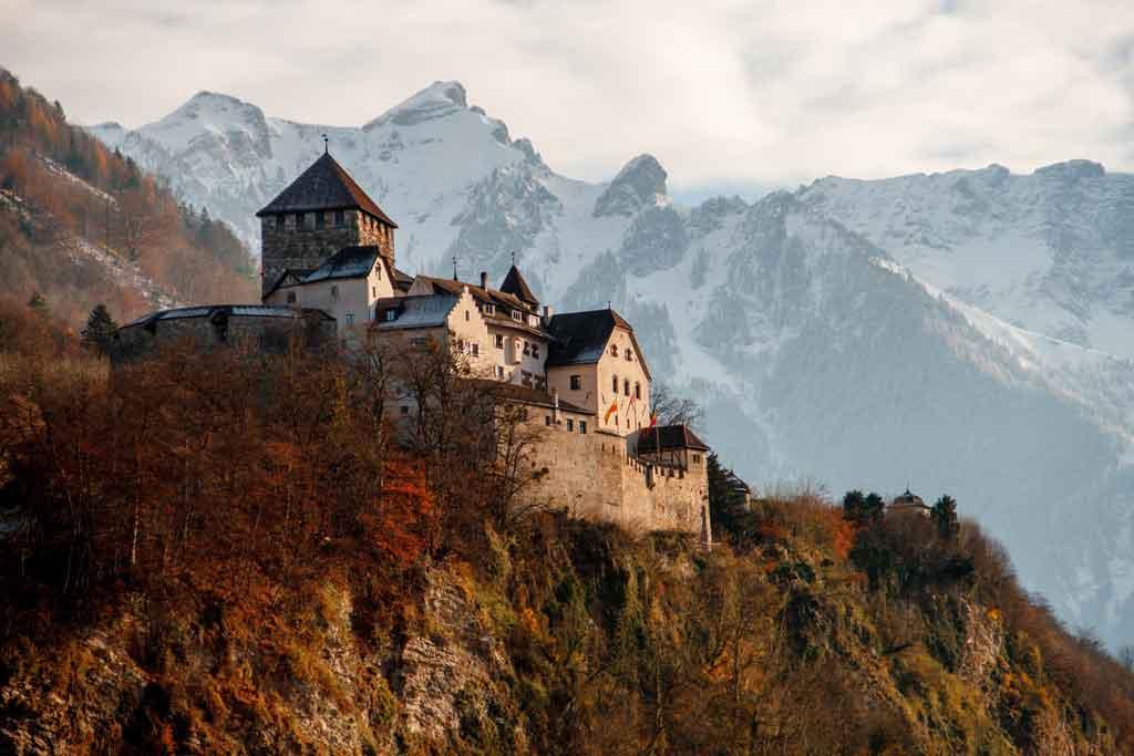 vaduz liechtenstein castelo veduz