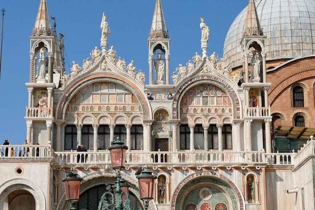Veneza Itália basilica de san marco