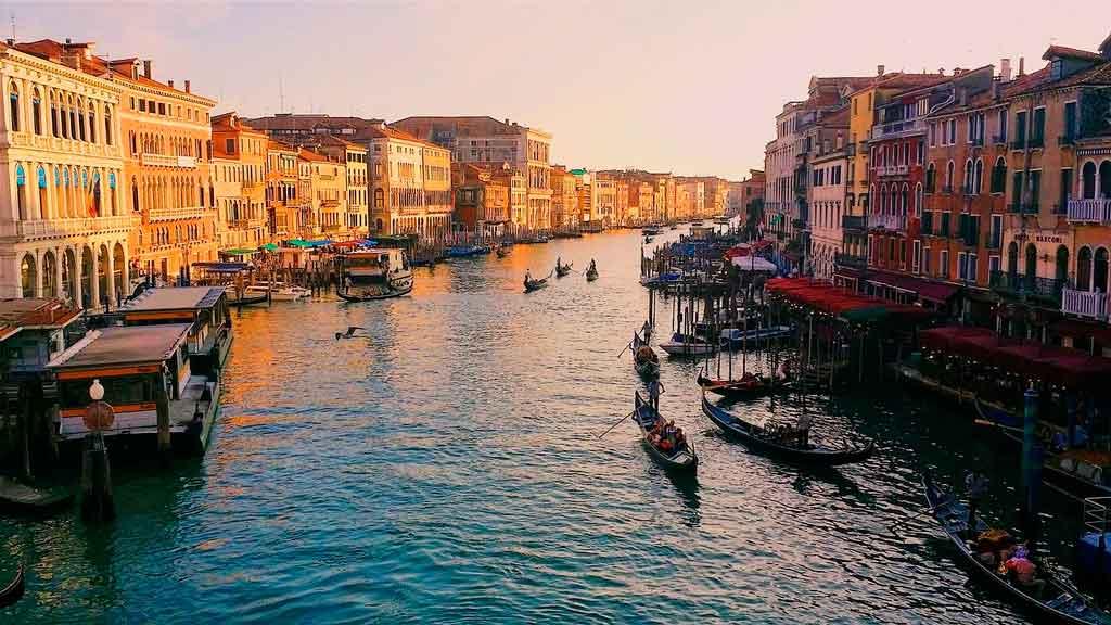 Veneza Itália grande canal