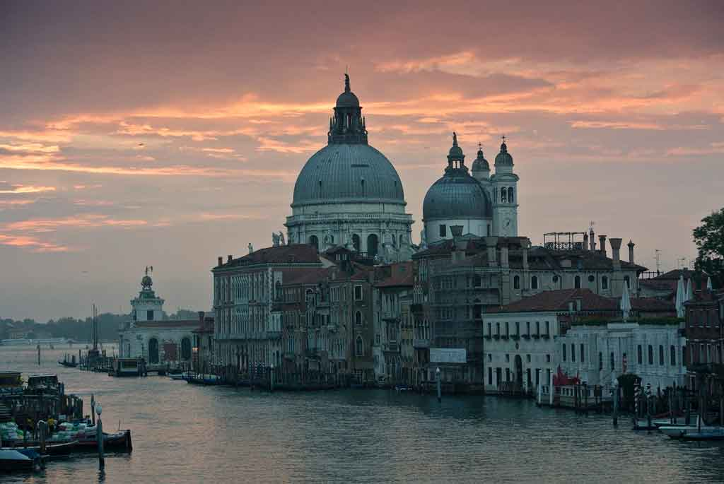 Veneza Itália igreja santa maria della solute