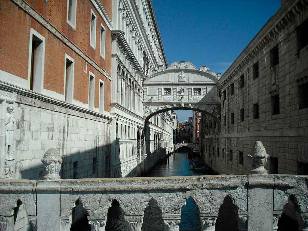 Veneza Itália ponte dos suspiros