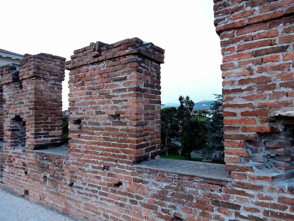Verona Itália castelo de romeu