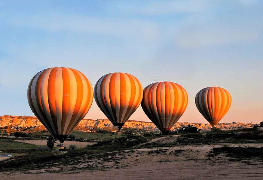 Balões na Capadócia dicas
