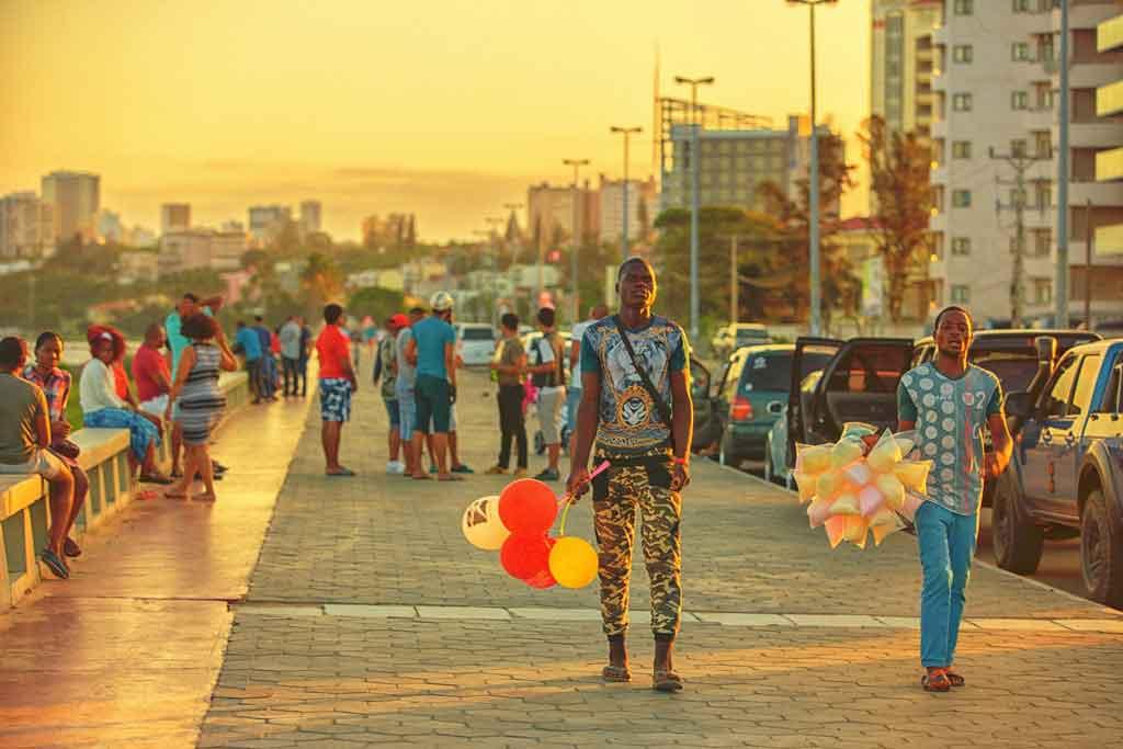 Capital de Moçambique onde fica