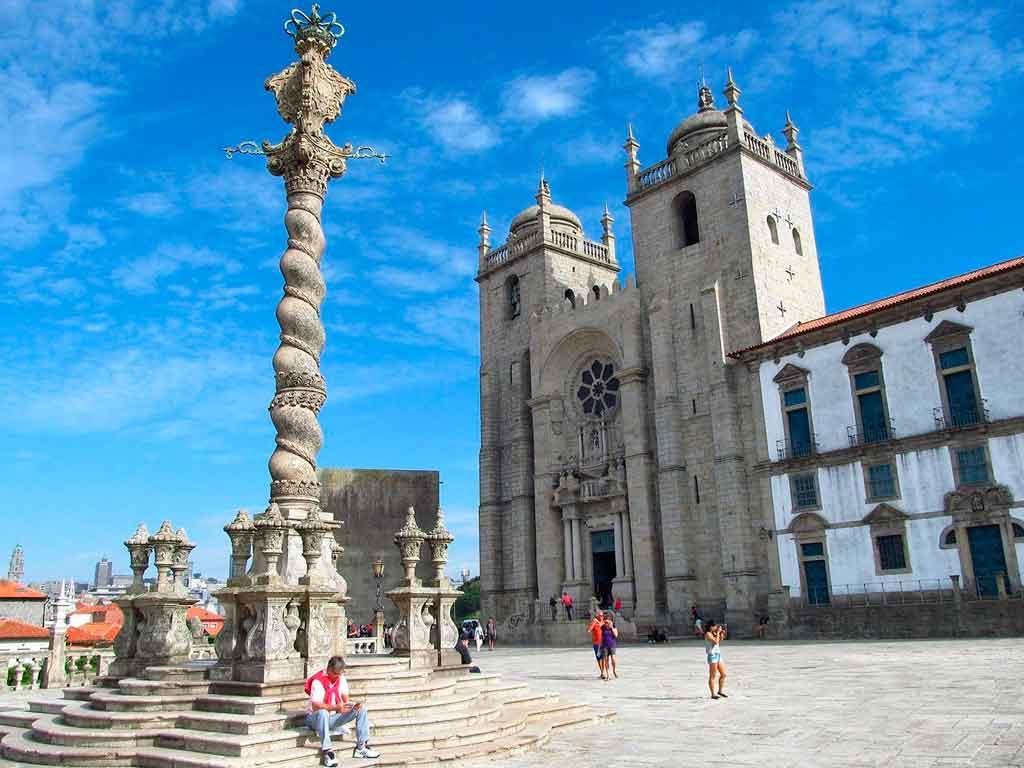 Cidade do Porto Portugal Catedral da Sé