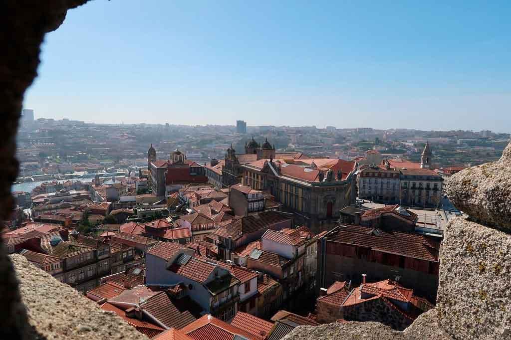 Cidade do Porto Portugal Torre dos Clérigos